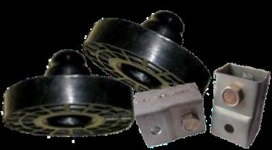 """Комплект задніх проставок з подовжувачами для збільшення кліренсу Daewoo Lanos, Сенс 36мм """"ЕКСТРА"""""""
