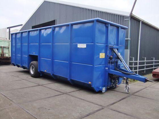 Польовий контейнер для рідкої органіки LEEWES & LUDMANN 63 м³
