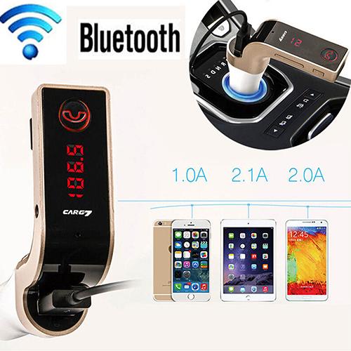 CarG7. FM-модулятор з можливістю Bluetooth Hands-free, MP3-програвач з карт пам