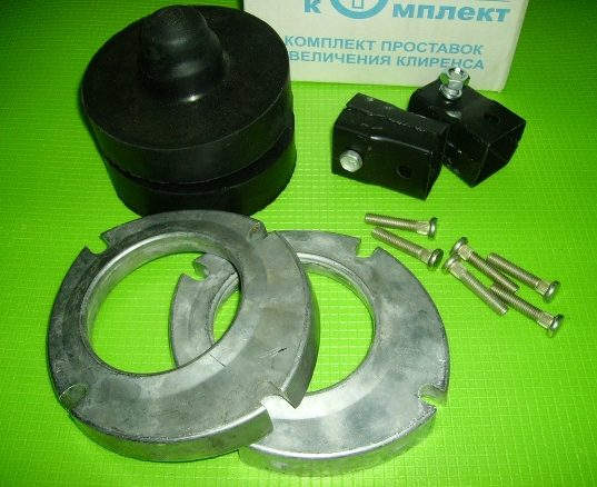 Комплект проставок для збільшення кліренсу Daewoo Lanos, Sens. Extra, 28 мм.